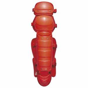 Z-BLL5233-6400 ゼット ソフトボール用レガーツ(レッド) ZETT