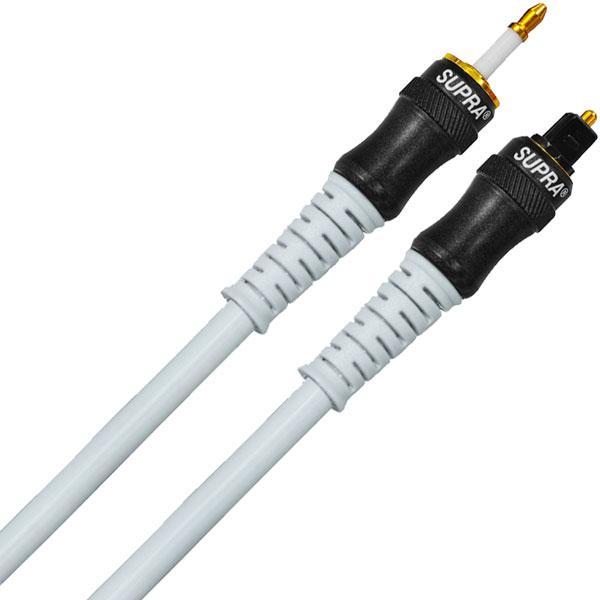 ZAC MinTos-1.0 スープラ 光デジタルケーブル(1.0m・1本)【角型⇔丸型】 SUPRA