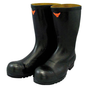 SB02127.0 シバタ工業 安全耐油長靴(黒) 27.0cm
