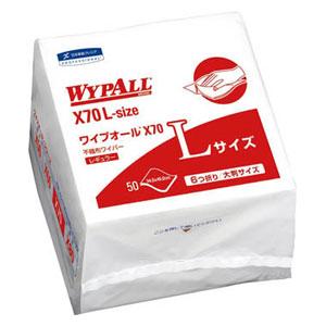 60374 日本製紙クレシア ワイプオールX70 Lサイズ 6つ折り