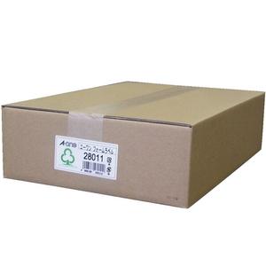 28011(エ-ワン) エーワン コンピュータフォームラベル 15インチ幅 24面 500折(12000片) A-one