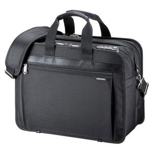 BAG-MPR3BKN サンワサプライ モバイルプリンタ/プロジェクターバッグ(15.6型ワイド対応・ブラック)