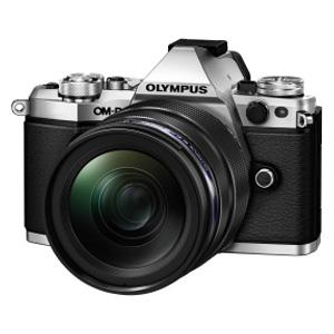 E-M5-MK2-1240K(SLV) オリンパス ミラーレス一眼カメラ「OM-D E-M5 MarkII」12-40mm F2.8レンズキット(シルバー)