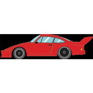【200円OFF■当店限定クーポン 3/11 1:59迄】1/43 Porsche 935 Gr.5 1976 レッド/ブラックホイールベンチレーター 【EM298C】 メイクアップ