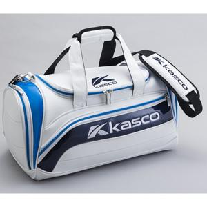 KS-182 ホワイト/ブル- キャスコ ボストンバッグ (ホワイト/ブルー)