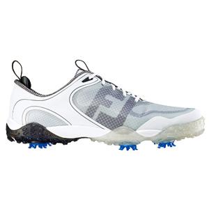 57330 FREESTYLE WH/GY/CH W27.5 フットジョイ メンズ・ゴルフシューズ(ホワイト+ライトグレー+チャコール 27.5cm) Freestyle #57330