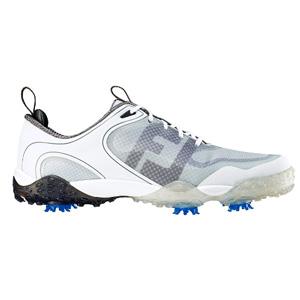 57330 FREESTYLE WH/GY/CH W24.5 フットジョイ メンズ・ゴルフシューズ (ホワイト+ライトグレー+チャコール 24.5cm) Freestyle #57330
