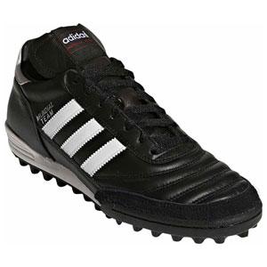 ADJ-019228-295 アディダス サッカー トレーニングシューズ(ブラック/ランニングホワイト/レッド・29.5cm) adidas ムンディアルチーム