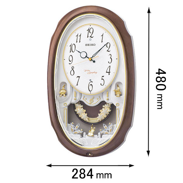 AM-260-A セイコークロック アミューズ時計 セイコーメロディ [AM260A]【返品種別A】