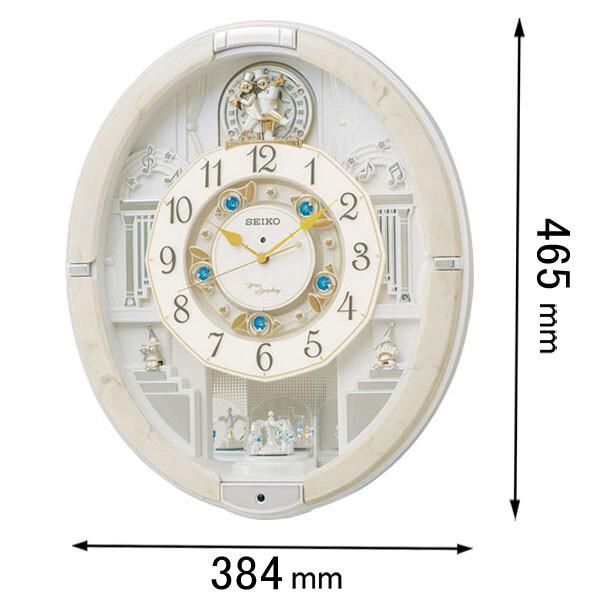 RE-576-A セイコークロック からくり時計 セイコーメロディ [RE576A]【返品種別A】