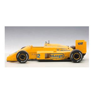 1/18 ロータス 99T ホンダ F1 日本GP 1987 #12 アイルトン・セナ (ロータスロゴ無し)【88728】 オートアート