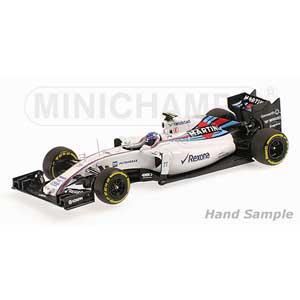 1/18 ウィリアムズ マルティニ レーシング メルセデス FW37 V.ボッタス 2015【117150077】 ミニチャンプス