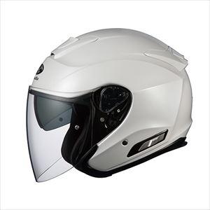 ASAGI-PWH-M OGKカブト オープンフェイスヘルメット(パールホワイト)[M] OGK ASAGI