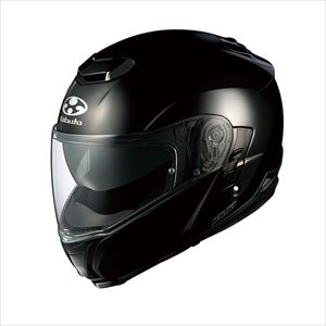 IBUKI-BK-L OGKカブト システムヘルメット(ブラックメタリック)[L] OGK KABUTO IBUKI