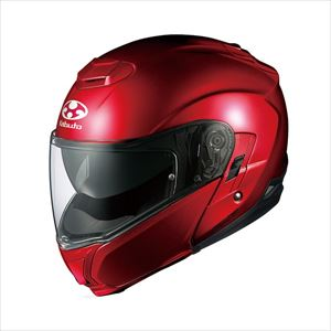 IBUKI-SRD-XXL OGKカブト システムヘルメット(シャイニーレッド)[XXL] OGK KABUTO IBUKI