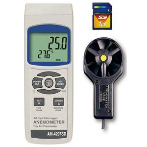 AM-4207SD マザーツール デジタル風速計