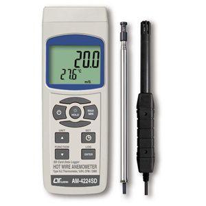 AM-4224SD マザーツール SDデータロガ式デジタル熱線式風速・風量計