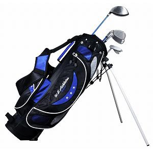 USCS-5755 BL U.S.アスリート ジュニア用 ゴルフ クラブセット 4本セット スタンドバッグ付 ブル-9~12歳対象(身長130~150cm) U.S.Athlete