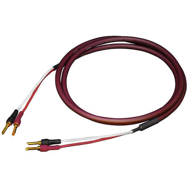 SPC-850BB/2.0M サエク 完成品スピーカーケーブル(両端バナナプラグ)【2.0m・ペア】 SAEC