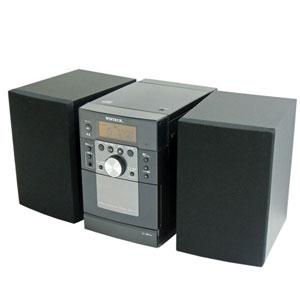 KMC-113 WINTECH ワイドFM対応CDミニカセットコンポ 廣華物産 ウィンテック