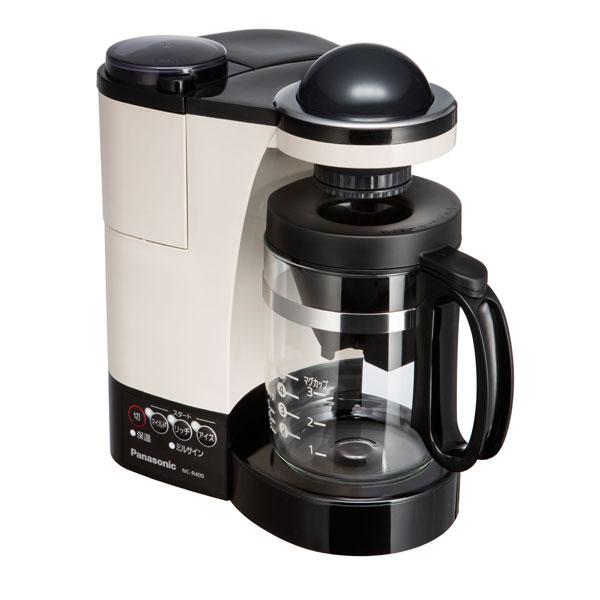 NC-R400-C パナソニック ミル付き浄水コーヒーメーカー カフェオレ Panasonic [NCR400C]