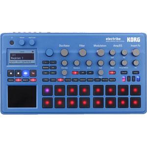 ELECTRIBE2-BL コルグ ハードシーケンサー(ブルー) MUSIC PRODUCTION STATION electribe