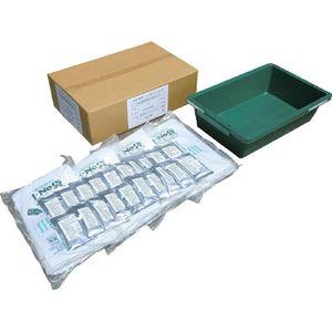 722-T20 丸和ケミカル 土No袋箱型水槽付20枚セット 吸水土のう