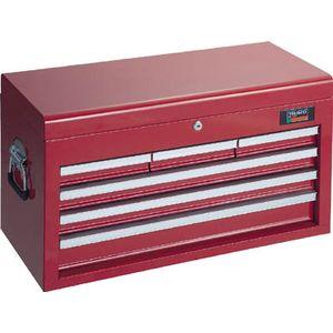 TCBOX-4R トラスコ中山 キャビネットツールボックス 660×307×378 スチール製工具箱