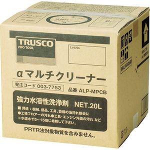 ALP-MPCB トラスコ中山 αマルチクリーナー 20L 洗剤・クリーナー