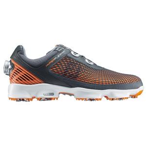 51018 HYPERFLEX Boa O/G W25.0 フットジョイ メンズ・ゴルフシューズ(オレンジ+グレー 25.0cm) HYPERFLEX Boa #51018