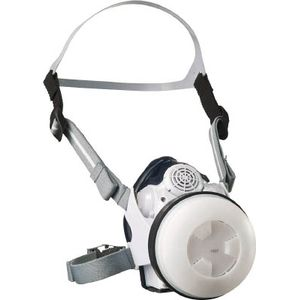 SY11F 重松製作所 電動ファン付呼吸用保護具 本体Sy11F(フィルタなし)(20602) 電動ファン付防じんマスク