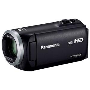 HC-V480MS-K パナソニック デジタルハイビジョンビデオカメラ「HC-V480MS」(ブラック)