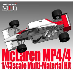 1/43 Mclaren MP4/4 Ver.C【K528】 モデルファクトリーヒロ