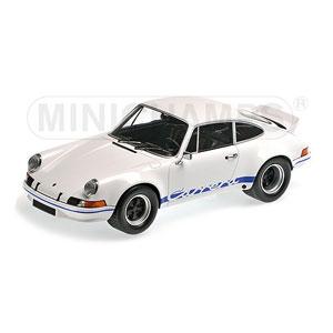 1/18 ポルシェ 911 カレラ RSR 2.7 1972 ホワイト/ブルー【107065020】 ミニチャンプス