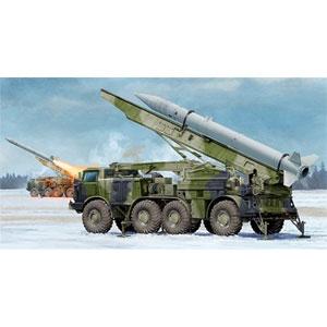 【再生産】1/35 ソビエト軍 9K52/ルーナM 短距離弾道ロケットシステム【01025】 トランペッター