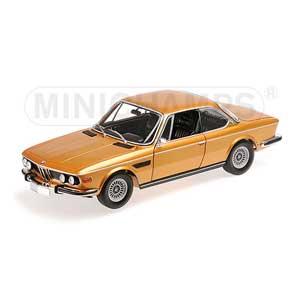 1/18 BMW 3.0 CSI (E9) クーペ 1972 ゴールドメタリック【180029027】 ミニチャンプス