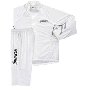 SMR6000 ホワイト M ダンロップ スリクソン レインスーツ SMR6000 ホワイト M