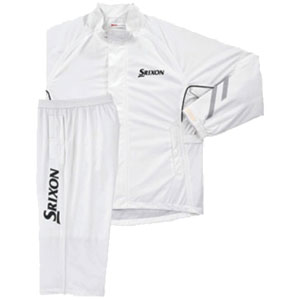 SMR6000 ホワイト LL ダンロップ スリクソン レインスーツ SMR6000 ホワイト LL