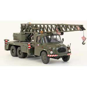 1/43 Tatra T138 クレーンワーゲン ミリタリー(カーキ)【PCS12776】 Premium ClassiXXs
