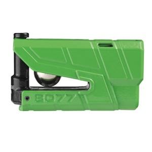 ABUS-8077X-PLUS GR ABUS 傾斜センサー型アラームディスクロック(グリーン) Granit Detecto X-Plus 8077