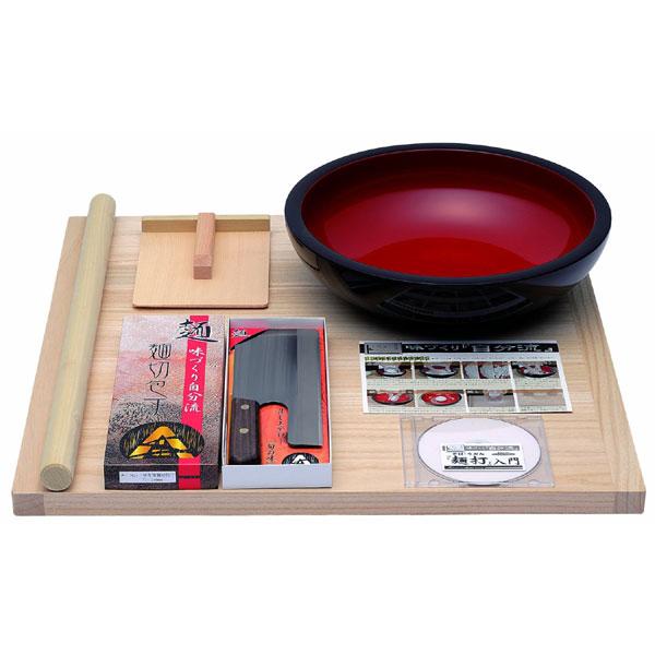 A-1200 豊稔 普及型麺打セット(そば・うどんDVD付き)