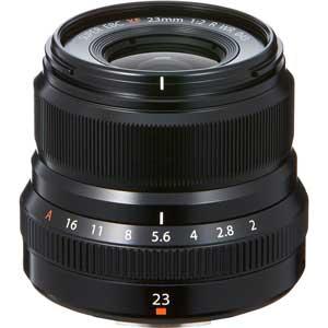 F XF23MMF2 R WR B 富士フイルム フジノンレンズ XF23mmF2 R WR(ブラック) ※富士フイルムXマウント用レンズ