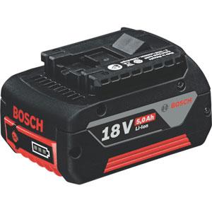 A 1850 LIB 期間限定で特別価格 ボッシュ 電動工具用電池パック リチウムイオンバッテリー 5.0Ah 18V ショッピング