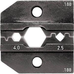 624-188-3-0 RENNSTEIG 圧着ダイス Huber 2.5-4.0 手動圧着工具