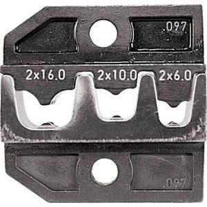 624-097-3-0 RENNSTEIG 圧着ダイス フェルール端子2×6、2×10 手動圧着工具