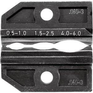624-060-3-3-0 RENNSTEIG 圧着ダイス 絶縁端子0.5-6.0 手動圧着工具