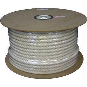 PRC-16 ユタカメイク 綿ロ-プドラム巻 16φ×100m(白) ロープ