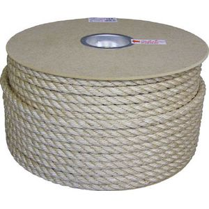 PRM-6 ユタカメイク マニラロープドラム巻 12φ×100m(茶) ロープ
