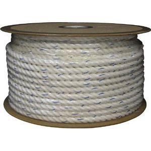 PRV-16 ユタカメイク ビニロンロープドラム巻 16φ×100m(白) ロープ(ビニロン)