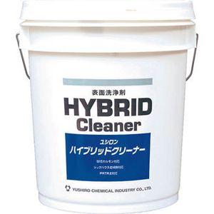 3120002221 ユシロ化学工業 強力床用洗浄剤 ハイブリッドクリーナー 18L 洗剤・クリーナー